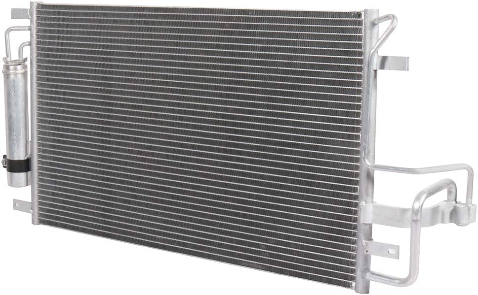 Aintier AC Condenser Coolant Overflow Water Tank Replace AC3323 Fit for 2005 2006 2007 2008 2009 2010 Kia Sportage Hyundai Tucson