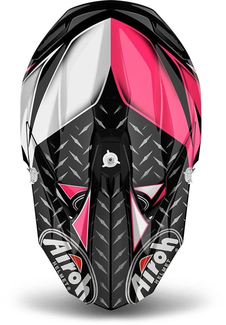 rose Airoh Helmet Twist Iron taille S
