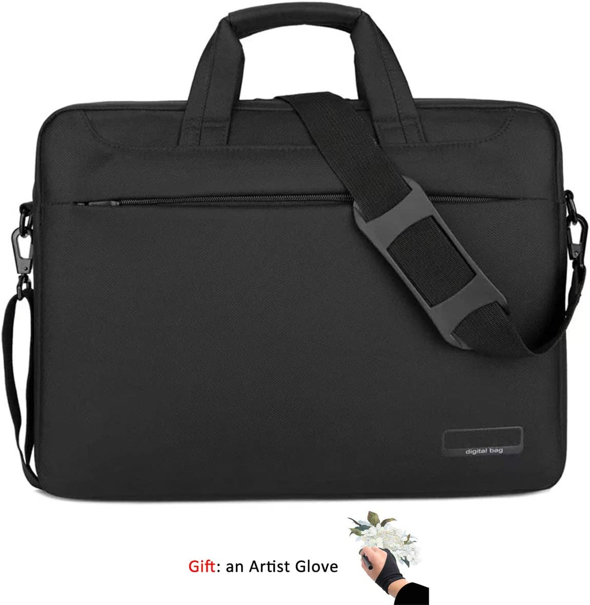 Cintiq Pro 16 Funda de transporte para tablet Wacom Cintiq 16 Intuos Pro PTH860 impermeable con guante de artista