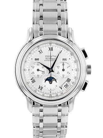 buy popular ddda3 e583f Amazon   [ゼニス] 腕時計 ZENITH 02.0240.410 クロノマスターT ...