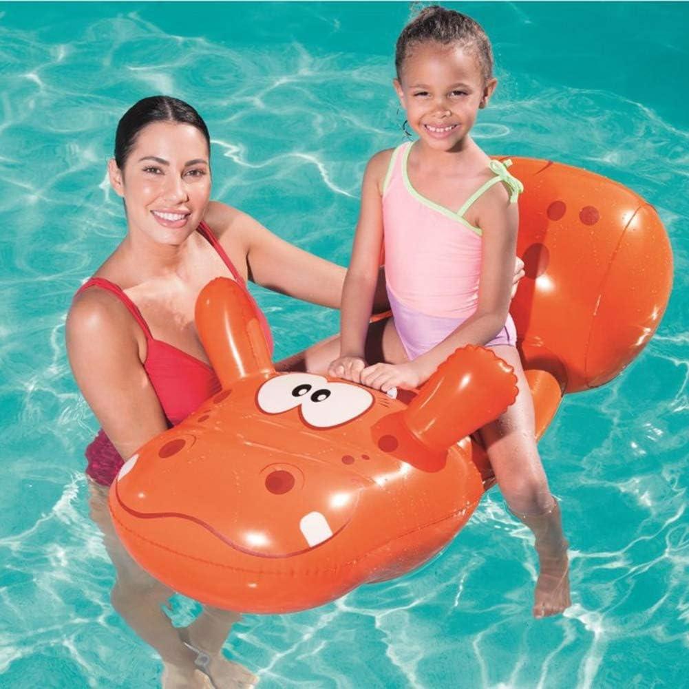 FBEST Flotador Hipopótamo Inflable para la Piscina, Divertidos ...