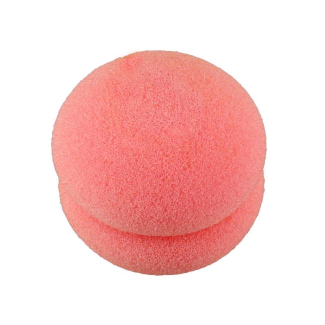 Demarkt Belleza amarillo y Rosa suave pelo de la esponja de ...