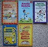 Amelia Bedelia Set of 5 Books (Amelia Bedelia ~ Good Work, Amelia Bedelia ~ Thank You, Amelia Bedelia ~ Good Driving, Amelia Bedelia ~ Teach Us, Amelia Bedelia)