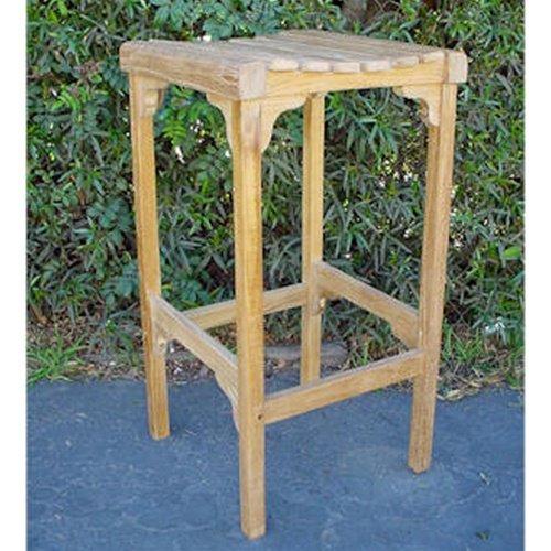 - Anderson Teak Montego Backless Bar Chair