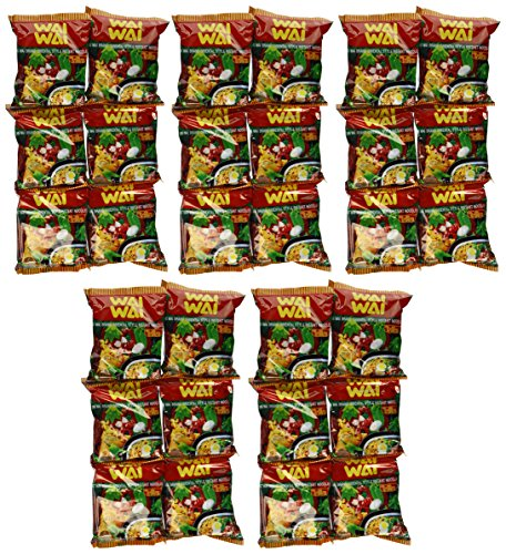 WAI WAI Instant Noodle (Oriental Style) - 1.93oz - 60g (Pack of 30)]()