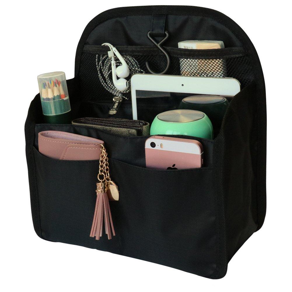 8138bd762218 VANCORE Backpack Organizer Insert Travel Nylon Hanging Purse Organizer For  Women