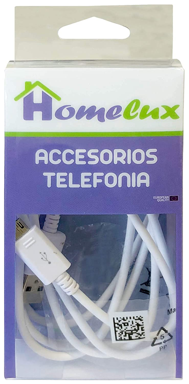 1.5 m Homelux 990142 Cable Cargador M/óvil Universal