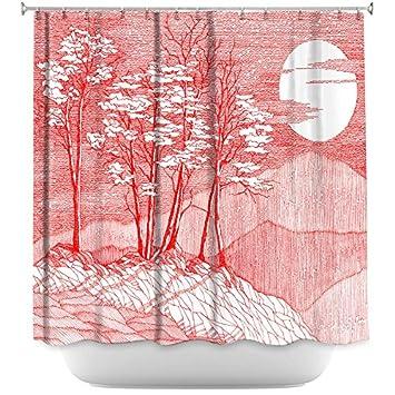 DiaNoche Designs Bathroom Shower Curtains By Gerry Segismundo