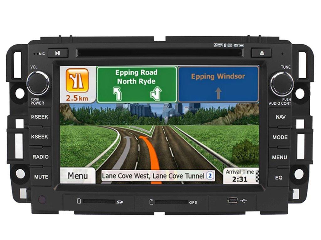 astrium gee-1102-ns81 Chevrolet GMC Buick in-dash GPS navegación estéreo FM AM SAT XM Radio Bluetooth unidad principal pantalla táctil receptor AV DVD CD ...