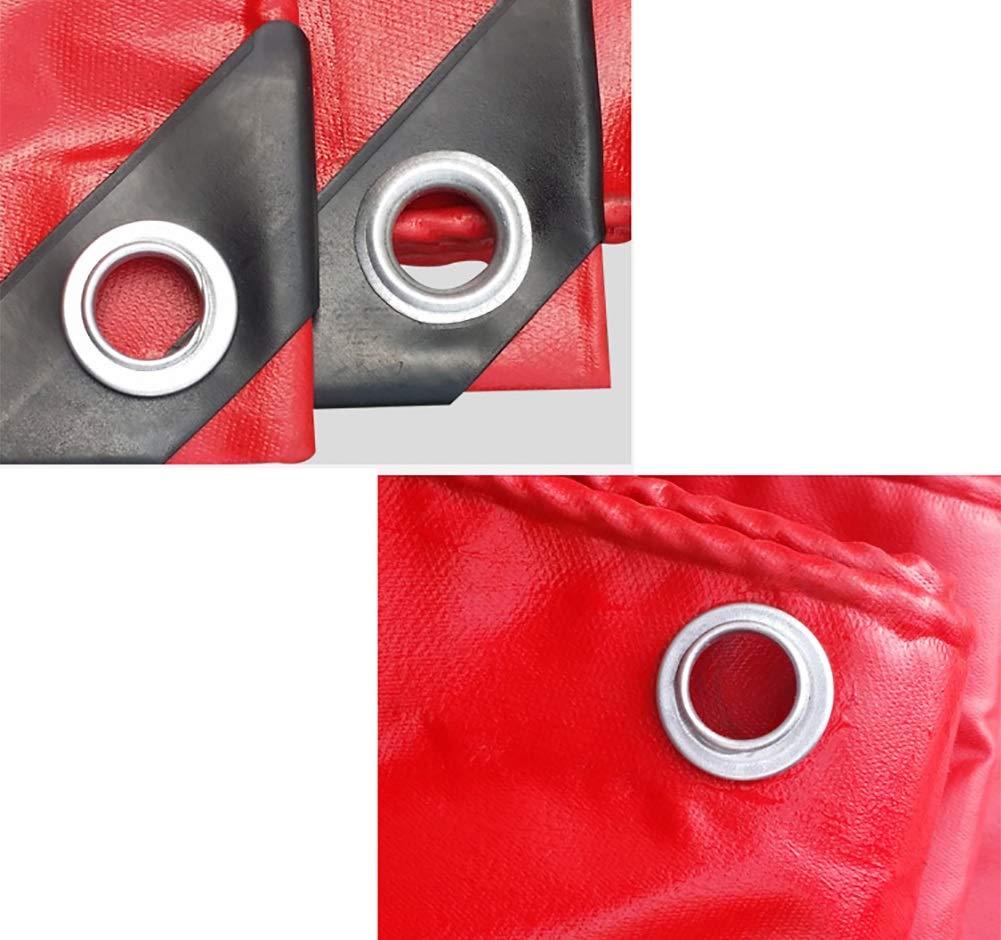 WDXJ Copriruota per per per teloni Impermeabili per Camion da Campeggio Rosso Resistente all'impermeabilizzazione - 550G   M² (Dimensioni   2x3m) 36a6c7