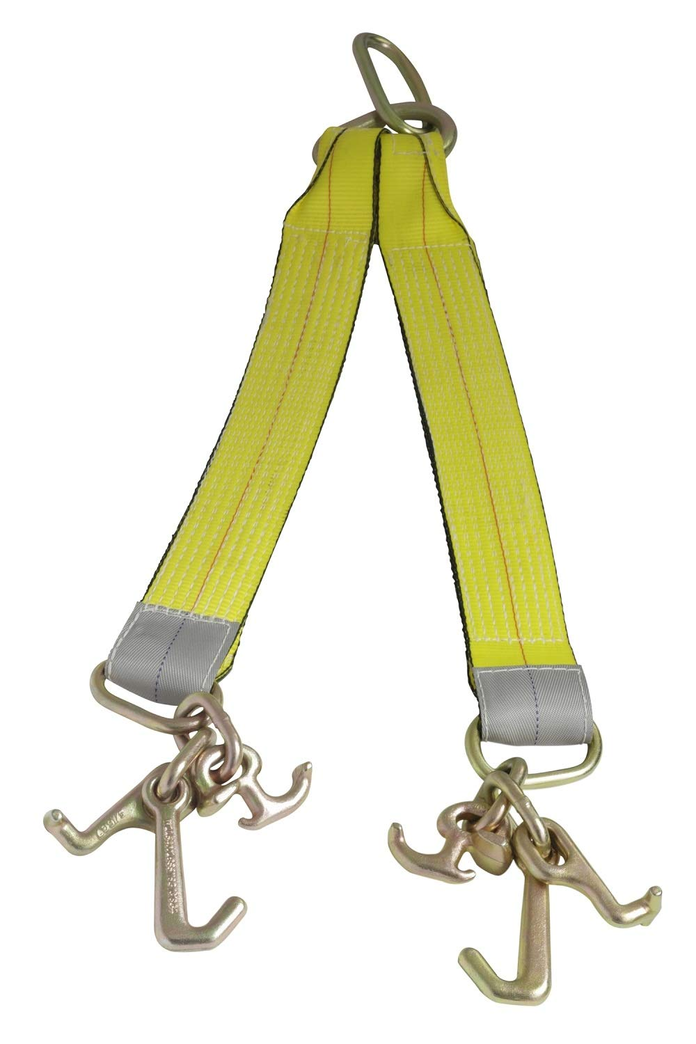 Mytee Products Tow Straps V Bridle 3'' x 24'' w/RTJ Cluster Hooks 5400WLL