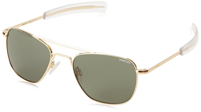 0d712a6f6e Amazon.com  Randolph Aviator Square Sunglasses