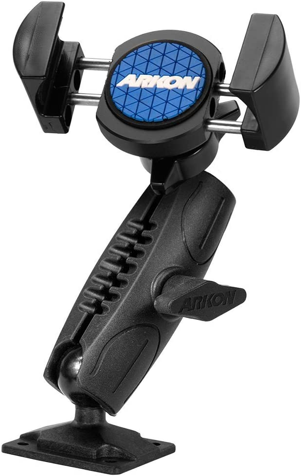 Arkon RoadVise Wall Phone Mount for iPhone X 8 7 6S Plus iPhone 8 7 6S Galaxy S8 S7 S6 Note 8 5 Retail Black