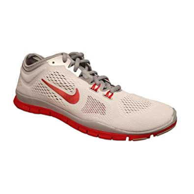 NIKE Womens WMNS Free 5.0 TR FIT 4 Team, WHITESPORT RED-WOLF