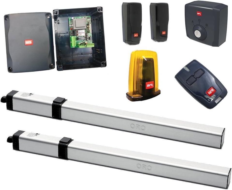 Kit puerta puertas mazos oleodinamico con motores BFT Oro 230 V: Amazon.es: Bricolaje y herramientas