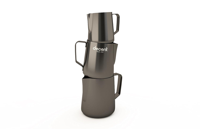 Milk Jug with competition spout (all 3 sizes) Decent Espresso