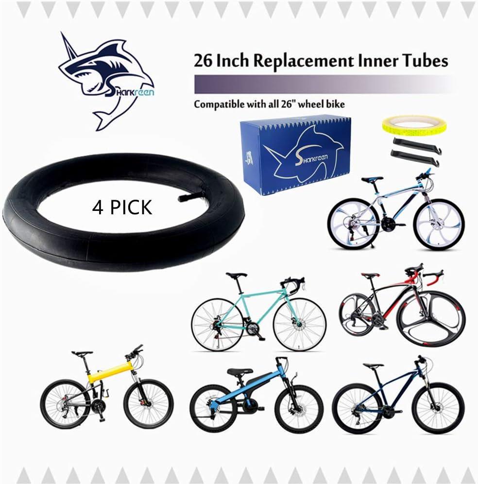 "4x  26/"" Inch Cycle Inner Tubes 26 x 1.75-1.95 26X1.95"