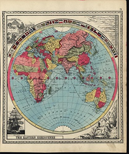 eastern-hemisphere-very-world-decorative-flags-1885-antique-hand-color-map