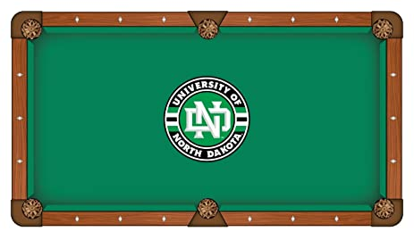 Amazoncom North Dakota Fighting Hawks Green Circular Logo - Circular pool table