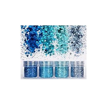 265f81386b Amazon.com : SAKLL Glitter 18Color Glitter Palette Maquillaje ...