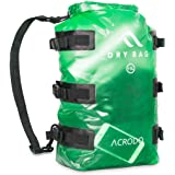 Acrodo Waterproof Backpack & Dry Bag - 15L Rucksack for Beach, Kayaking, Swimming, Boating, Camping, Travel & Gifts