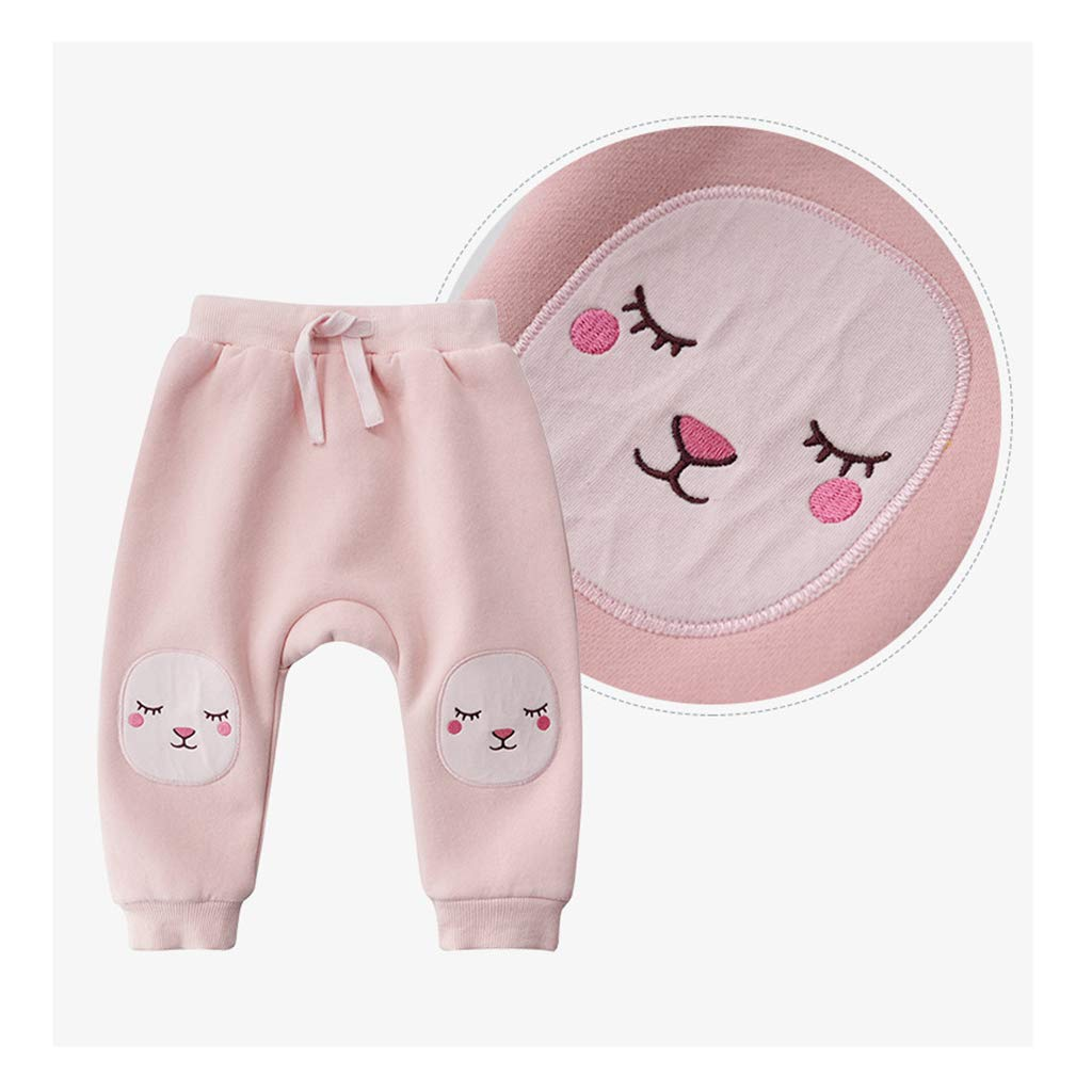 Baby Trousers Toddler Double Layer Jogging Bottoms Kids Tracksuit Pants