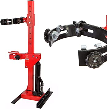 Red Stark 2.5 Ton Strut Compressor Spring Auto Removal Coil Spring 5,000 LBS Hydraulic Foot Pedal