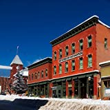 Framed Art for Your Wall City Colorado Urban Hotel Town Telluride 10x13 Frame