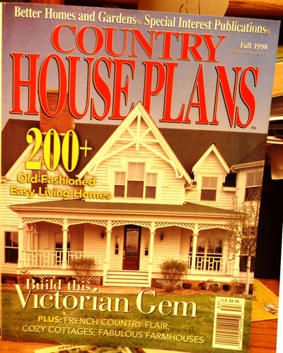 Country House Plans Fall 1998: Amazon.com: Books on small country house plans, large country house plans, old country house plans,