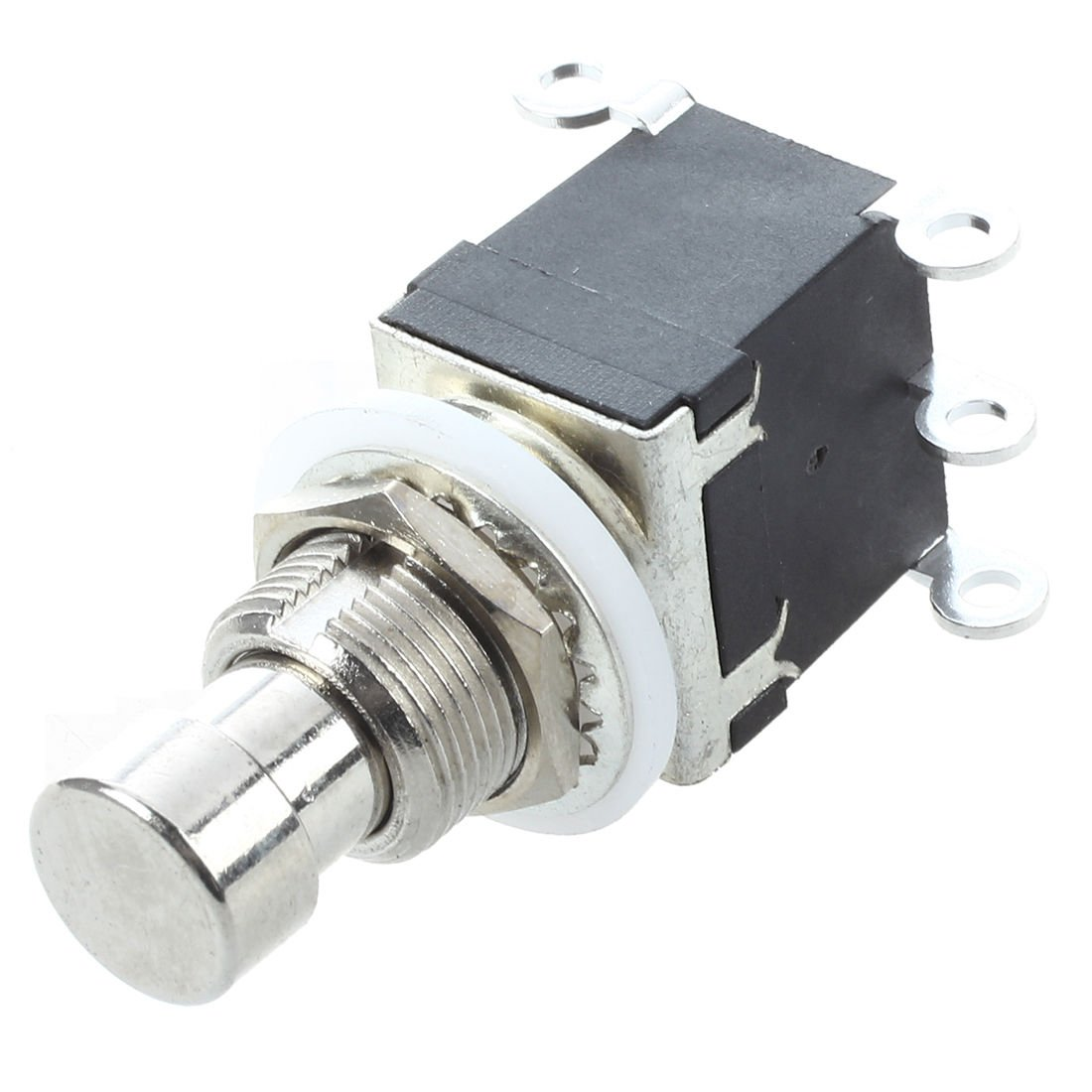 SODIAL(R) 6Pins DPDT Momentary Stomp Foot Switch for Guitar AC 250V/2A 125V/4A
