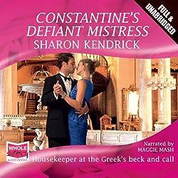 Constantine's Defiant Mistress