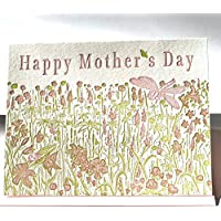 Mother's Day Wildflowers Letterpress Card