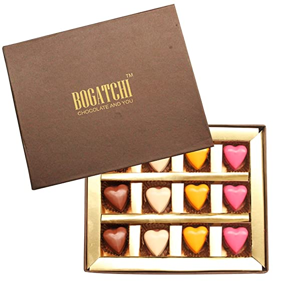 BOGATCHI HAPPY BIRTHDAY Gift For Boyfriend GIFT IDEAS Divine Hearts 144 G Amazonin Grocery Gourmet Foods