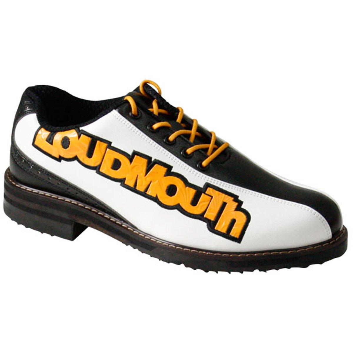 ラウドマウスゴルフ Loud Mouth Golf シューズ ゴルフシューズ B077GNNR8C 27.0 cm ブラック/ホワイト