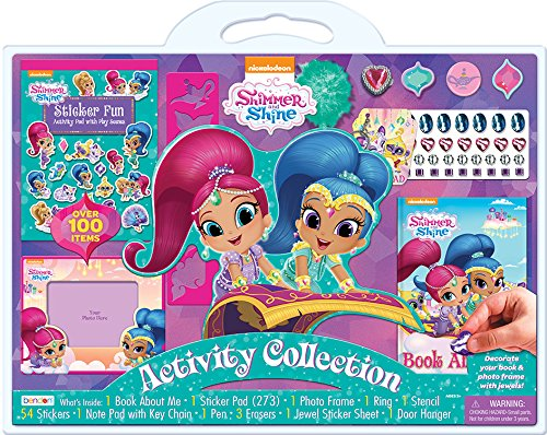 Nickelodeon As41614 Shimmer Shine 100 Piece Activity Set Buy