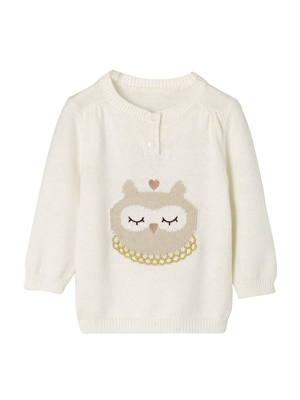 VERTBAUDET Jersey de Punto Tricot con Motivo Animal, para bebé niña para bebé niña