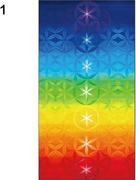 Amazon.com: MoO1deer Yoga Rainbow 7 Chakra Mandala Bohemia ...