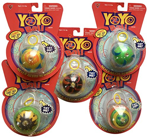 Big Time Toys Yo Ball Party Pack (5 Pack) -