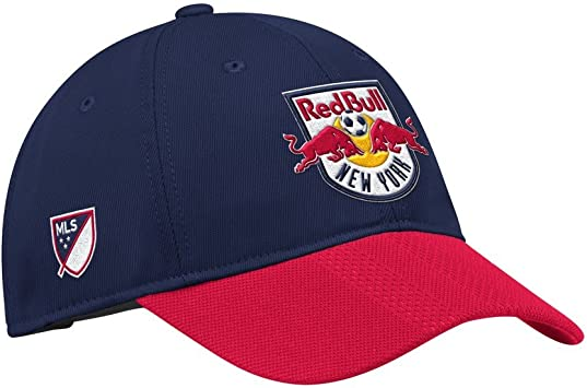 adidas Gorra de New York Red Bulls con Solapa Ajustable: Amazon.es ...
