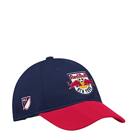 Amazon.com   adidas New York Red Bulls Hat Authentic Adjustable ... c68b2892582