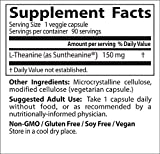 Image of Doctor's Best Suntheanine L-Theanine, Non-GMO, Gluten Free, Vegan, Helps Reduce Stress and Sleep, 150 mg  90 Veggie Caps