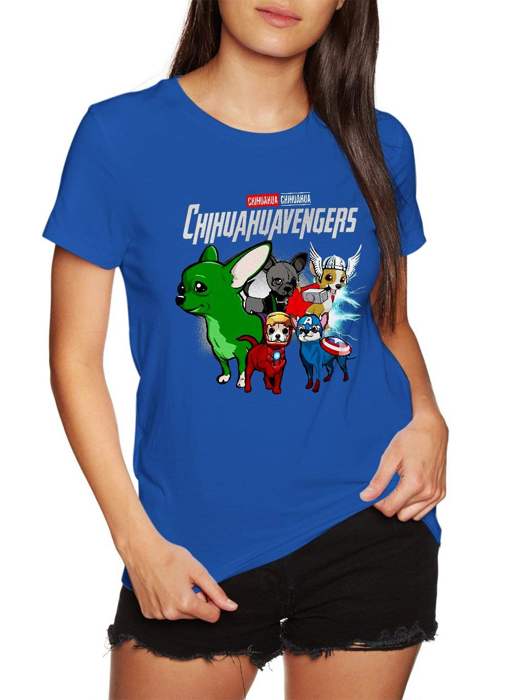 Chihuahua Chihuahuavengers Funny Vintage Trending Awesome Gift Shirts