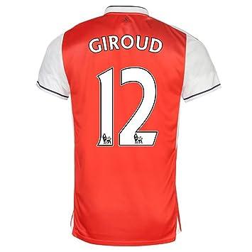 99fff1cf9 Arsenal FC No.12 Olivier Giroud Men's Home Away Third Football Shirt  2016/2017 Kit Size S M L XL