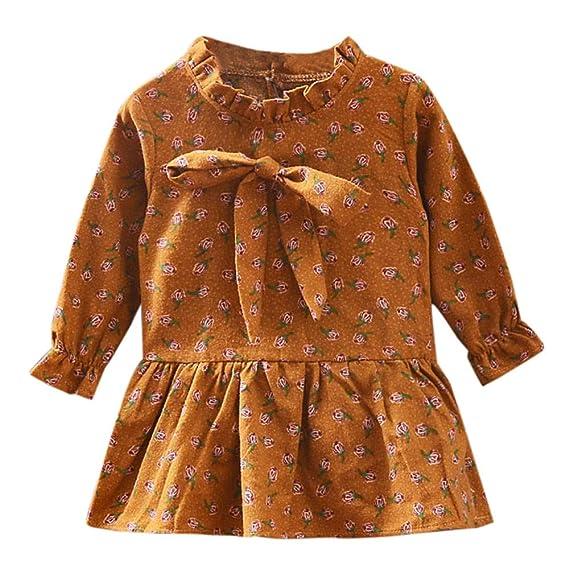 7f568d16da0e K-youth Vestidos para niñas Vestidos Bautizo Fiesta bebé niña ...
