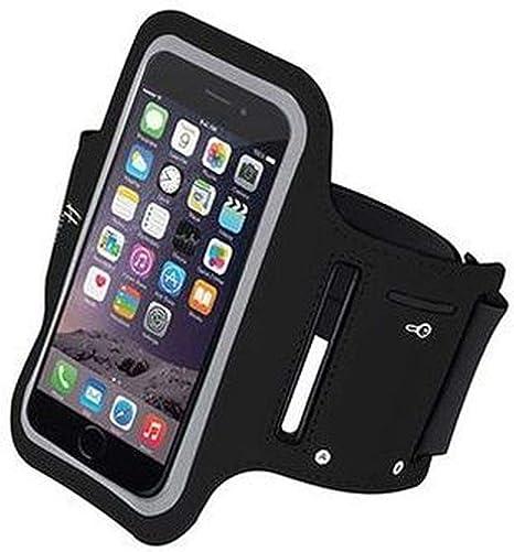 Générique Brazalete Deportivo Negro Universal para iPhone, Smartphone, Samsung Galaxy. 5,1