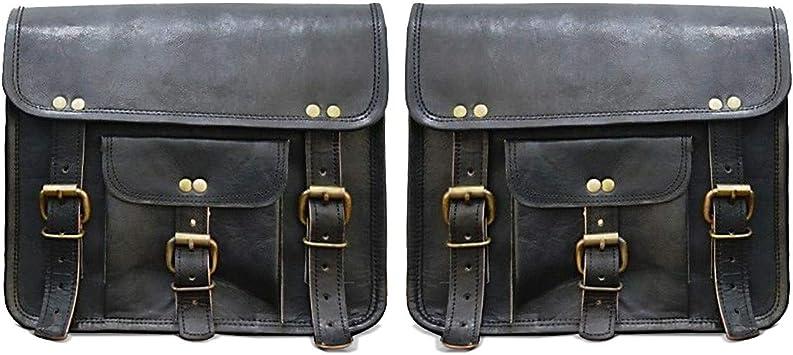Motorrad Satteltaschen Paar Vintage Tasche Craftride Sv2 6 L Schwarz Auto