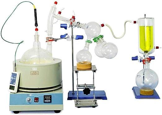 NSDFG Química Industrial Equipo de destilación 5 litros ...