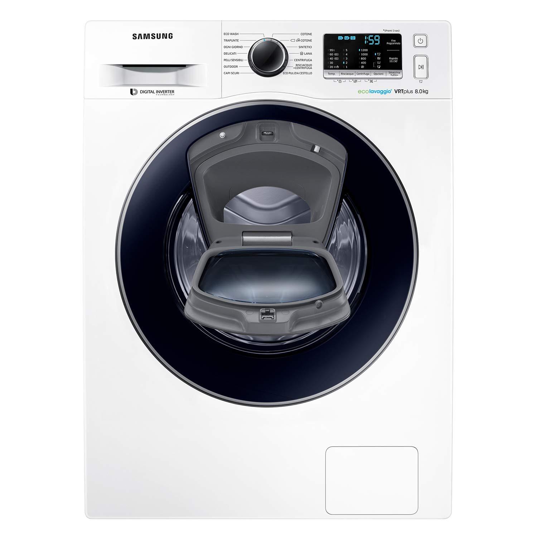 Samsung WW80K5210VW - Lavadora (Independiente, Carga frontal ...
