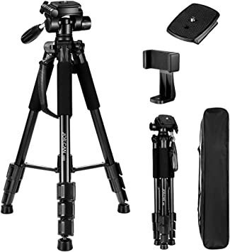 Ultra Compact and Lightweight Aluminum Tripod Professional Monopod for Travel DSLR Camera Light Compact Portable Stand
