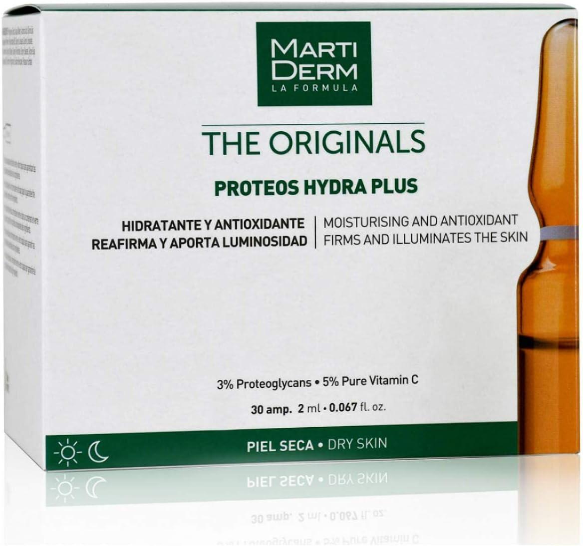 Martiderm Ampollas Proteoglicanos 30 Unidades | Ampollas Martiderm de Vitamina C facial y Proteoglicanos